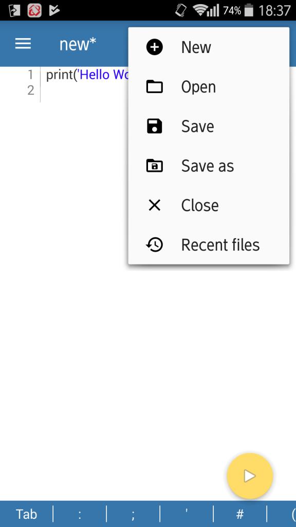 スマホ内臓ディスクやSDカードにファイルを保存