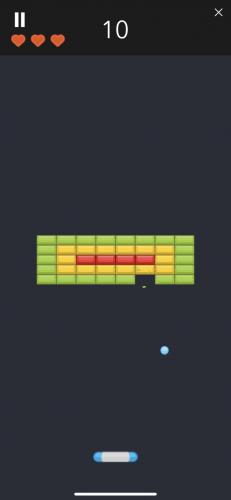 ブロック崩しゲーム